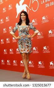 VENICE, ITALY - SEPTEMBER 04: Lali Esposito attends 'Acusada (The Accused)' photocall during the 75th Venice Film Festival on September 4, 2018 in Venice, Italy.