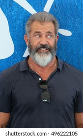 VENICE, ITALY - SEPTEMBER 04: Mel Gibson during the 73th Venice Film Festival 2016 in Venice, Italy