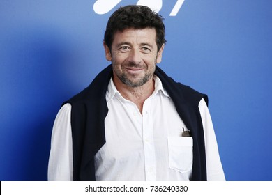 VENICE, ITALY - SEPTEMBER 04: Patrick Bruel attends the photo-call of 'Una Famiglia' during the 74th Venice Film Festival on September 4, 2017 in Venice, Italy.