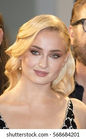 VENICE, ITALY - SEPTEMBER 04: Sophie Turner attends the Kineo Diamanti Award Ceremony during the 73rd Venice Film Festival at on September 4, 2016 in Venice, Italy.