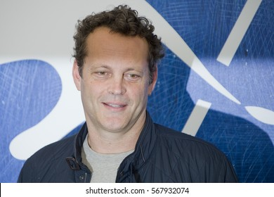 VENICE, ITALY - SEPTEMBER 04: Vince Vaughn attends a photocall for 'Hacksaw Ridge' during the 73rd Venice Film Festival at Palazzo del Casino on September 4, 2016 in Venice, Italy