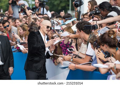 VENICE, ITALY - SEPTEMBER 05: Actor and director James Franco attends 'The Sound And The Fury' Premiere during the 71st Venice Film Festival on September 5, 2014 in Venice, Italy.