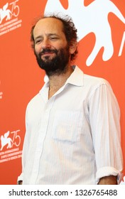 VENICE, ITALY - SEPTEMBER 05: Carlos Reygadas attends 'Nuestro Tiempo (Our Time)' photocall during the 75th Venice Film Festival on September 5, 2018 in Venice, Italy