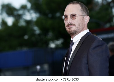 VENICE, ITALY - SEPTEMBER 05:  Darren Aronofsky attends the red carpet of the movie 'Mother!' during the 74th Venice Film Festival on September 5, 2017 in Venice, Italy.