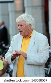 VENICE, ITALY - SEPTEMBER 06: Lino Toffolo at the Venice Film Festival on September 06, 2012 in Venice, Italy