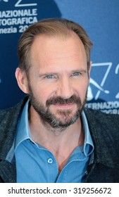 VENICE, ITALY - SEPTEMBER 06: Ralph Fiennes during the 72th Venice Film Festival 2015 in Venice, Italy