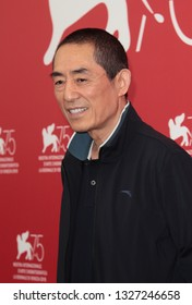 VENICE, ITALY - SEPTEMBER 06: Zhang Yimou attends the 'Ying (Shadow)' Photocall during the 75th Venice Film Festival on September 6, 2018 in Venice, Italy