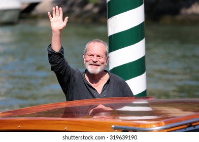 VENICE, ITALY - SEPTEMBER 07:   Terry Gilliam during the 72th Venice Film Festival 2015 in Venice, Italy