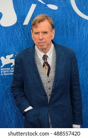 VENICE, ITALY - SEPTEMBER 07: Timothy Spall attends the 'The Journey' Photocall during the 73th Venice Film Festival 2016 in Venice, Italy