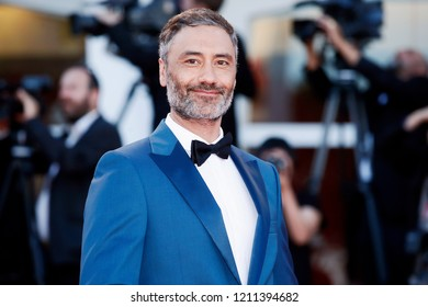 VENICE, ITALY - SEPTEMBER 08: Taika Waititi walks the red carpet of the Award Ceremony during the 75th Venice Film Festival on September 8, 2018 in Venice, Italy.