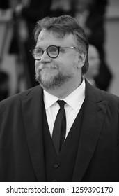 VENICE, ITALY - SEPTEMBER 09: Guillermo del Toro walks the red carpet ahead the Award Ceremony of the 74th Venice Film Festival at Sala Grande on September 9, 2017 in Venice, Italy.