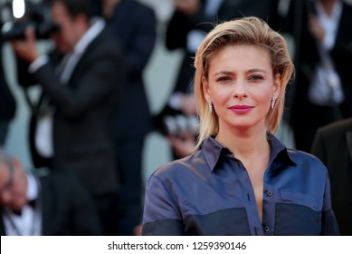 VENICE, ITALY - SEPTEMBER 09:  Jasmine Trinca arrives at the Award Ceremony during the 74th Venice Film Festival