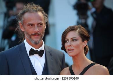 VENICE, ITALY - SEPTEMBER 09: Juri member Anna Mouglalis arrives at the Award Ceremony during the 74th Venice Film Festival at Sala Grande on September 9, 2017 in Venice, Italy