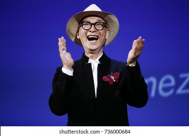 VENICE, ITALY - SEPTEMBER 09: Jury member Yonfan attends the Award Ceremony of the 74th Venice Film Festival on September 9, 2017 in Venice, Italy.