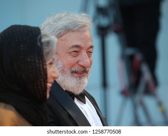 VENICE, ITALY - SEPTEMBER 09: President of 'Orizzonti' Jury Gianni Amelio arrives at the Award Ceremony of the 74th Venice Film Festival at Sala Grande on September 9, 2017 in Venice, Italy