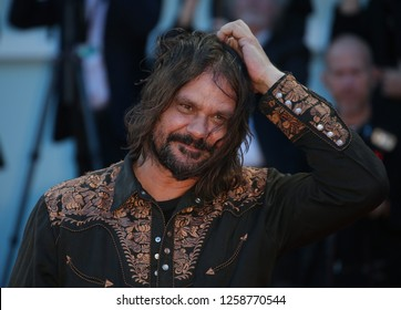 VENICE, ITALY - SEPTEMBER 09: Warwick Thornton arrives at the Award Ceremony during the 74th Venice Film Festival at Sala Grande on September 9, 2017 in Venice, Italy
