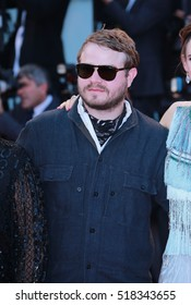 VENICE, ITALY - SEPTEMBER 10, 2016: Brady Corbet during the 73th Venice Film Festival 2016 in Venice, Italy