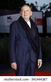 VENICE, ITALY - SEPTEMBER 10: Bruno Ganz attends the premiere of 'Remember' during the 72nd Venice Film Festival on September 10, 2015 in Venice, Italy.