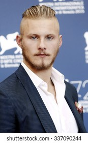 VENICE, ITALY - SEPTEMBER 11: Actor Alexander Ludwig attends the photo-call of 'Go With Me' during the 72nd Venice Film Festival on September 11, 2015 in Venice, Italy.