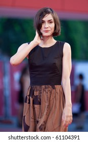 VENICE, ITALY - SEPTEMBER 11: actress  Shannyn Sossamon on the red carpet for the Closing ceremony during the 67th Venice Film Festival on September 11, 2010 in Venice, Italy.