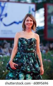 VENICE, ITALY - SEPTEMBER 11: Director Sofia Coppola on the red carpet for the Closing ceremony during the 67th Venice Film Festival  on September 11, 2010 in Venice, Italy.
