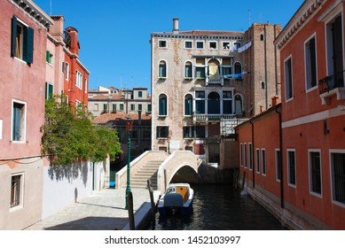 Venice, Italy - September 12, 2007: Noale Channel