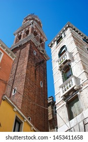 Venice, Italy - September 12, 2007: Church of San Geremia
