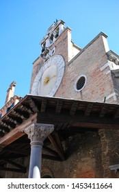 Venice, Italy - September 12, 2007: Church of San Giacomo di Rialto