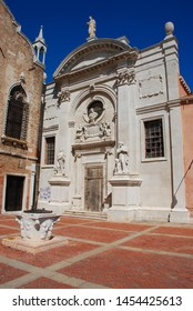 Venice, Italy - September 12, 2007: Abbey Misericordia