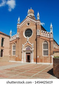 Venice, Italy - September 12, 2007: Madonna dell'Orto Church