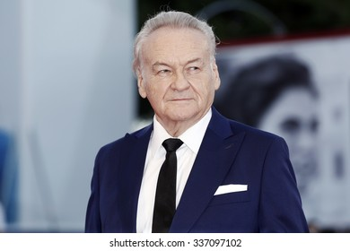 VENICE, ITALY -SEPTEMBER 9 :  Director Jerzy Skolimowski attends  '11 Minutes' premiere during the 72nd Venice Film Festival on September 9, 2015 in Venice, Italy.