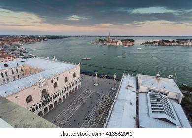 Venice, Italy and sunny day