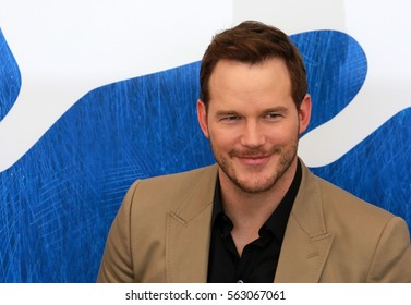 Venice, Italy.10 September, 2016. Chris Pratt attends the photocall for 'The Magnificent Seven'  during the 73rd Venice Film Festival .