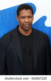 Venice, Italy.10 September, 2016. Denzel Washington  attends the photocall for 'The Magnificent Seven'  during the 73rd Venice Film Festival .