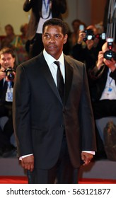 Venice, Italy.10 September, 2016  Denzel Washington, attend the premiere of ' 'The Magnificent Seven' following the ceremony awards l during the 73rd Venice Film Festival .