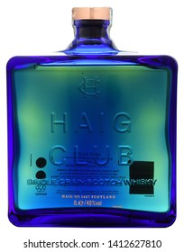 VENICE - MAY 2019. Bottle of Scotch Whisky Haig Club 1 liter, 40%Vol.