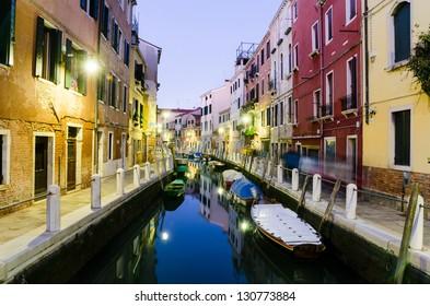 Venice in the night