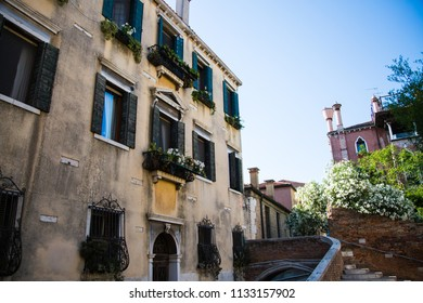 Venice, old house in venice