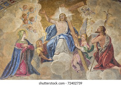 Venice: Saint Mark basilica Judgement mosaics