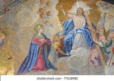 Venice: Saint Mark Basilica judgment mosaics