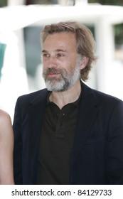 VENICE -SEP 1: Christoph Waltz at the 68th Venice International Film Festival in Venice, Italy on September 1, 2011.