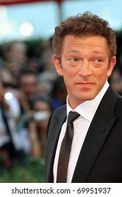 VENICE - SEPTEMBER 01:  Actor Vincent Cassel attends the 'Black Swan' premiere during the 67th Venice Film Festival on September 1, 2010 in Venice, Italy.