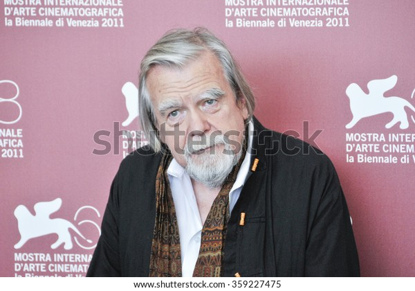 VENICE - SEPTEMBER 6: Director Michael Lonsdale poses at photocall during the 68th Venice Film Festival at Palazzo del Cinema in Venice, September 6, 2011 in Venice, Italy.