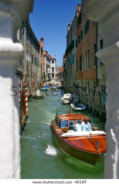 Venice through the Bridge