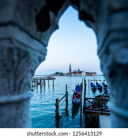 Venice,Italy-June 18 2018: Tourist people walking and visit around Basilica di san Marco venice in Italy.