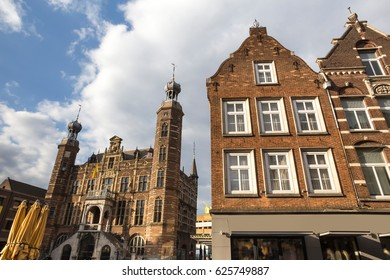 venlo historic townhall in the netherlands