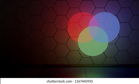 Venn Diagram Glow