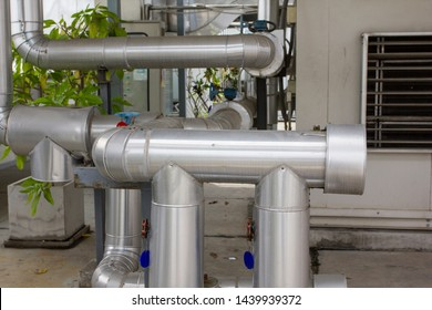 Vent pipes used plumbing air vent in the building help maintain proper atmospheric pressure in the waste system