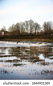 Venta rapid waterfall. Photo taken in Europe, Latvia.