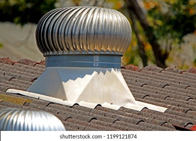 Ventilation air on the roof